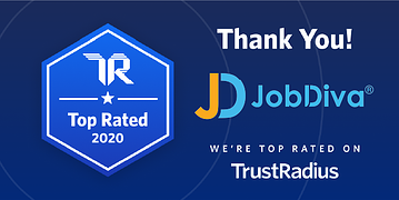 JobDiva Top Rated trustradius win
